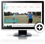 Brandi Jackson Golf Launches new website