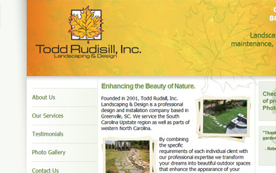 Todd Rudisill Landscape & Design